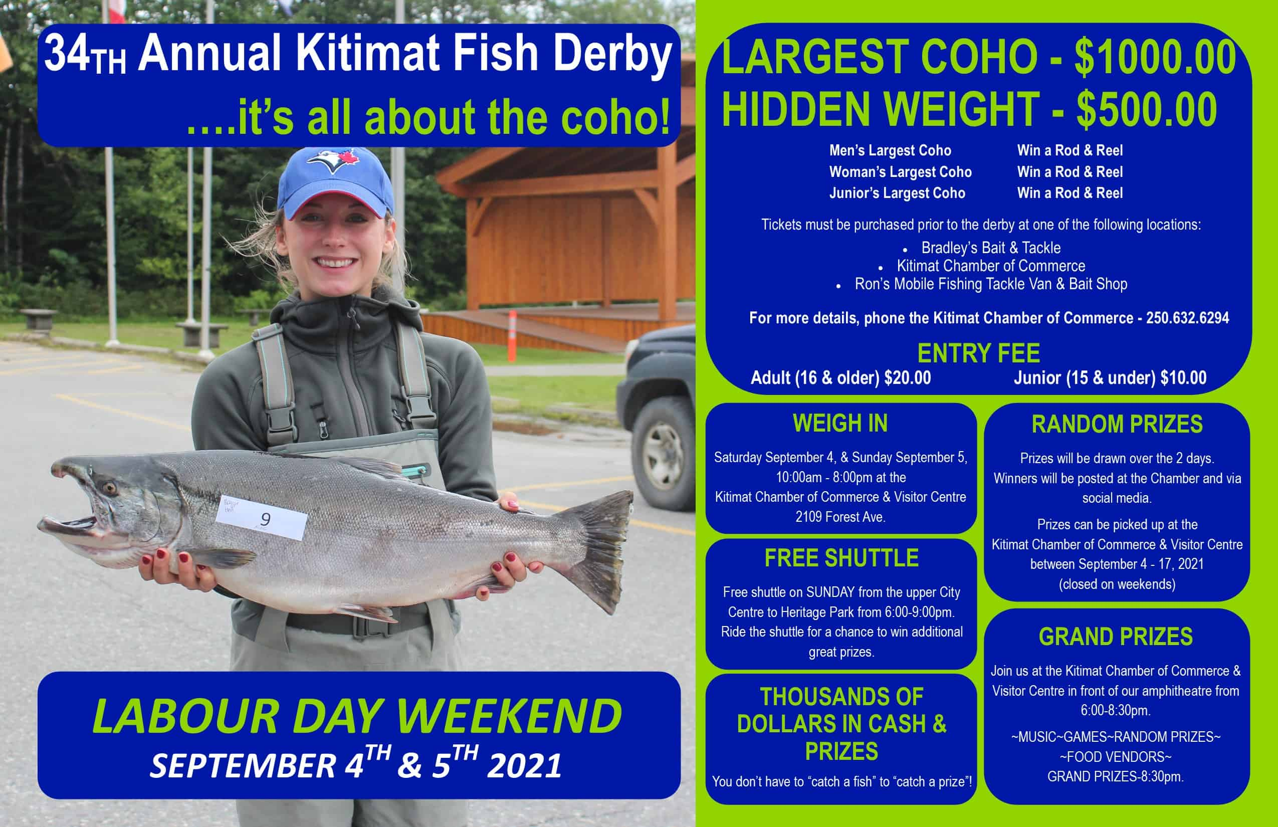 chamber fish derby poster
