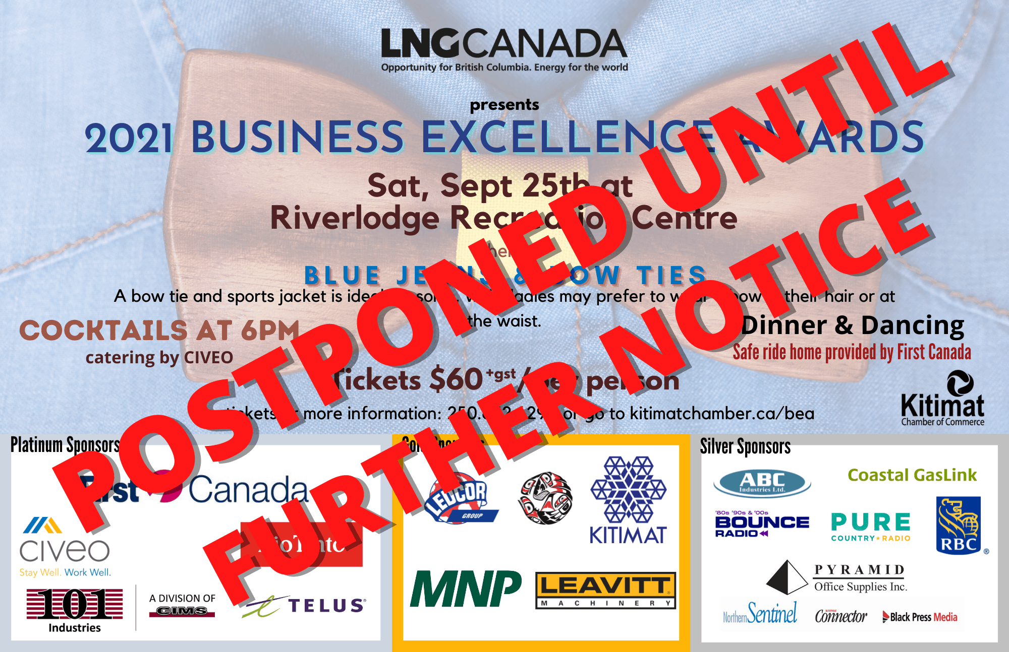 business excellence awards poster